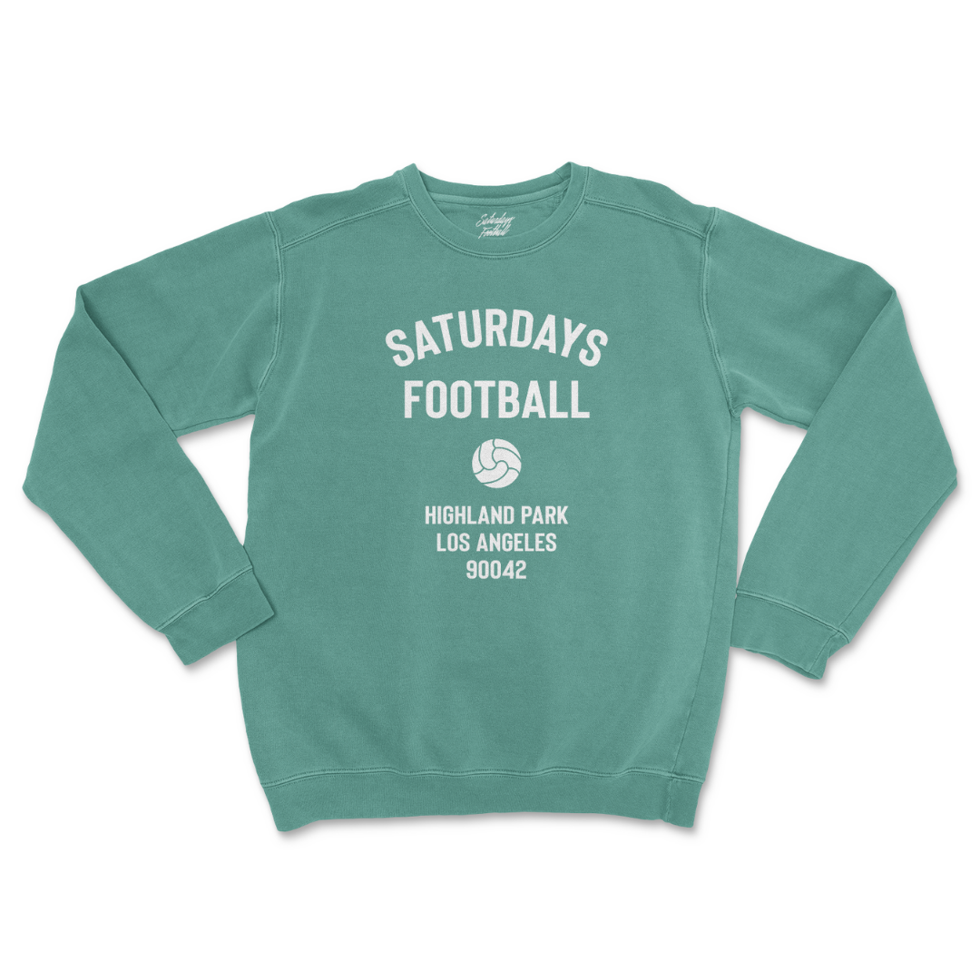 Pigment Dyed Crewneck - Light Green