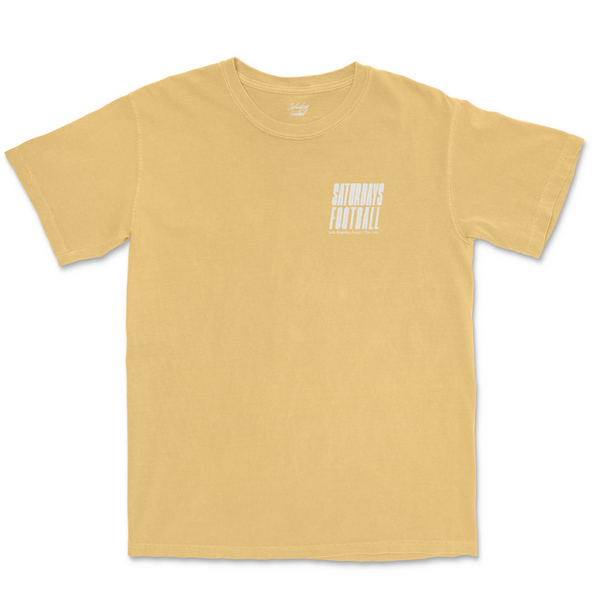 Pigment Dyed Sprint Tee - Mustard