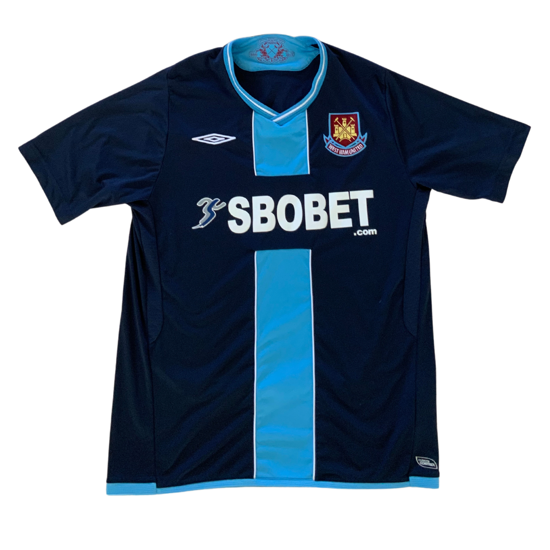 "West Ham 2009/10 ""Gina"" Away Umbro Jersey"