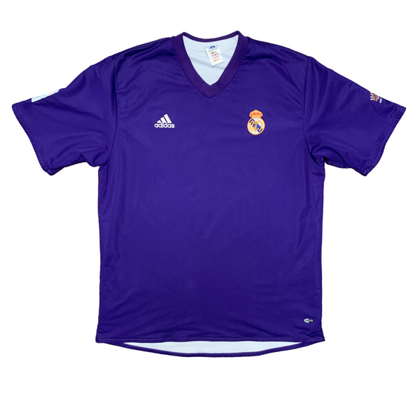 Real Madrid 2001/02 Centenary REVERSIBLE Adidas Jersey
