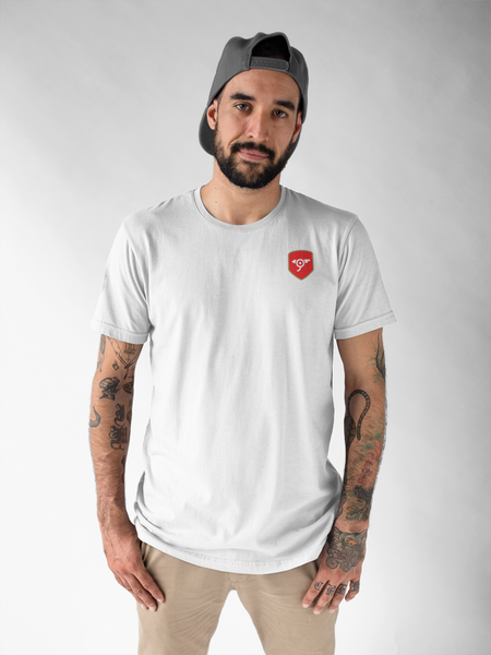 North London Minimalist White T-Shirt