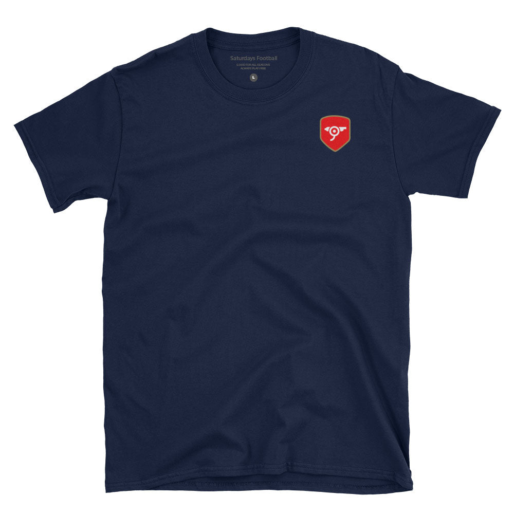 North London Minimalist Navy T-Shirt