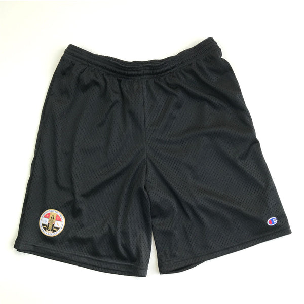 Saturdays Football x Champion Black Pocket Shorts