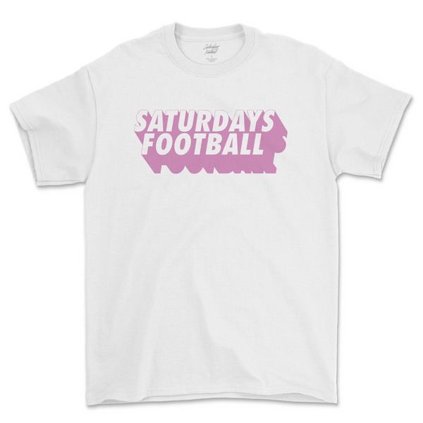 Saturdays Football Drop Logo T-Shirt