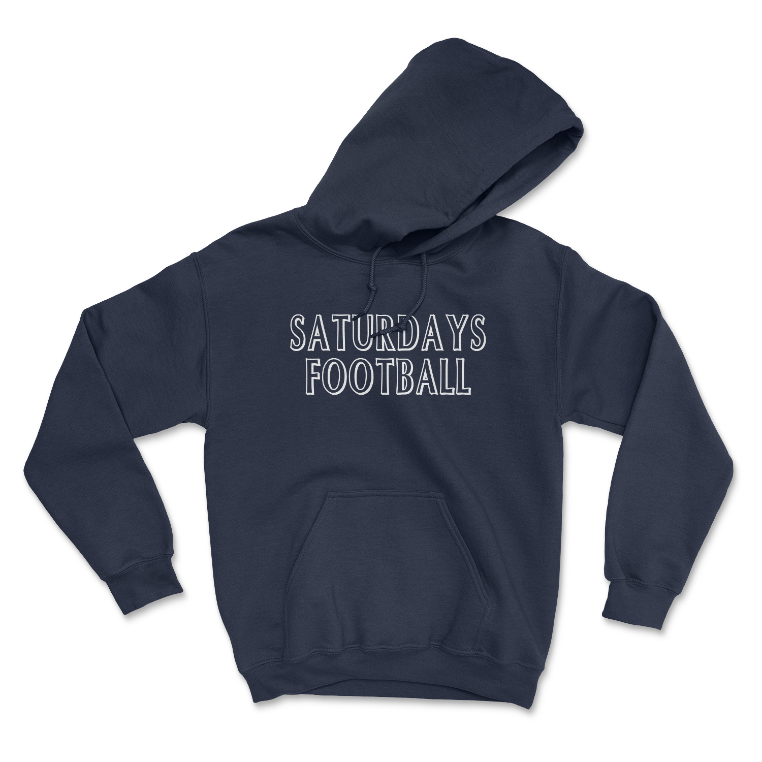 Saturdays Football Unisex Hoodie