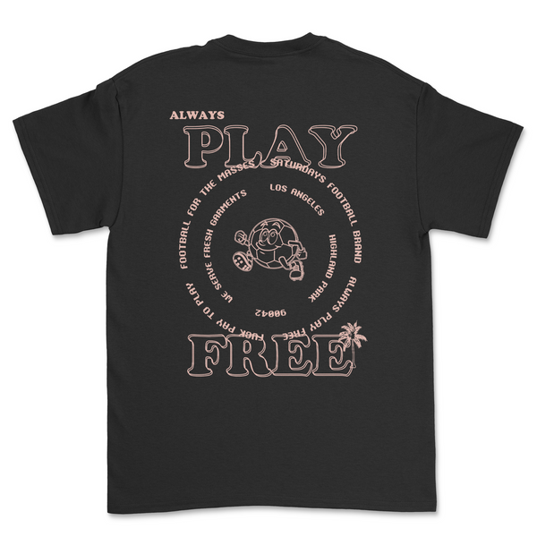Always Play Free Short-Sleeve T-Shirt