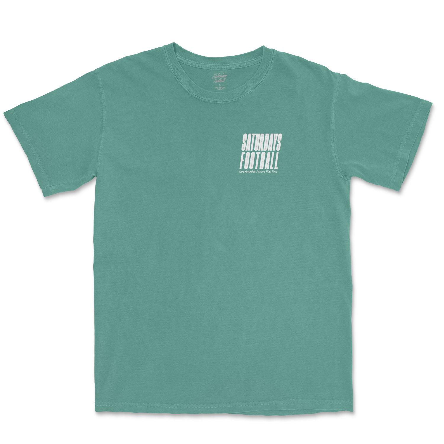 Saturdays Football Los Angeles Pigment Dyed T-Shirt