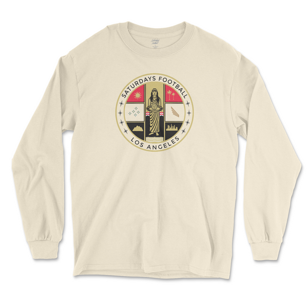 City Badge Long Sleeve - Natural
