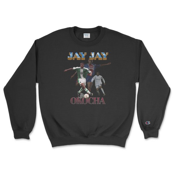 Jay Jay Champion Crewneck - Black