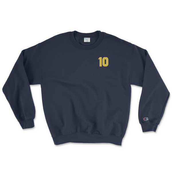 97 -98 Champion Crewneck - Navy Blue