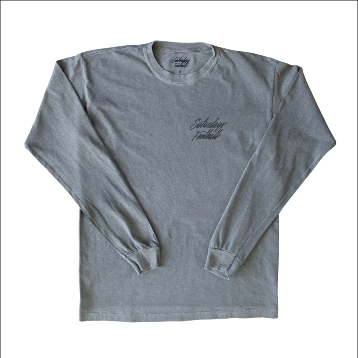 #80 Pigment Dyed Pepper Long Sleeve