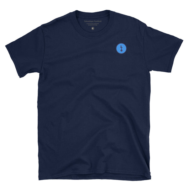 North London Blue Minimalist Badge T-Shirt