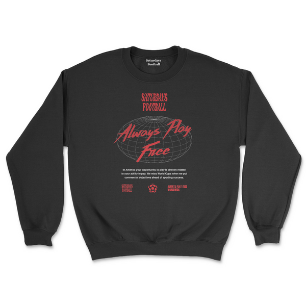 Always Play Free Crewneck