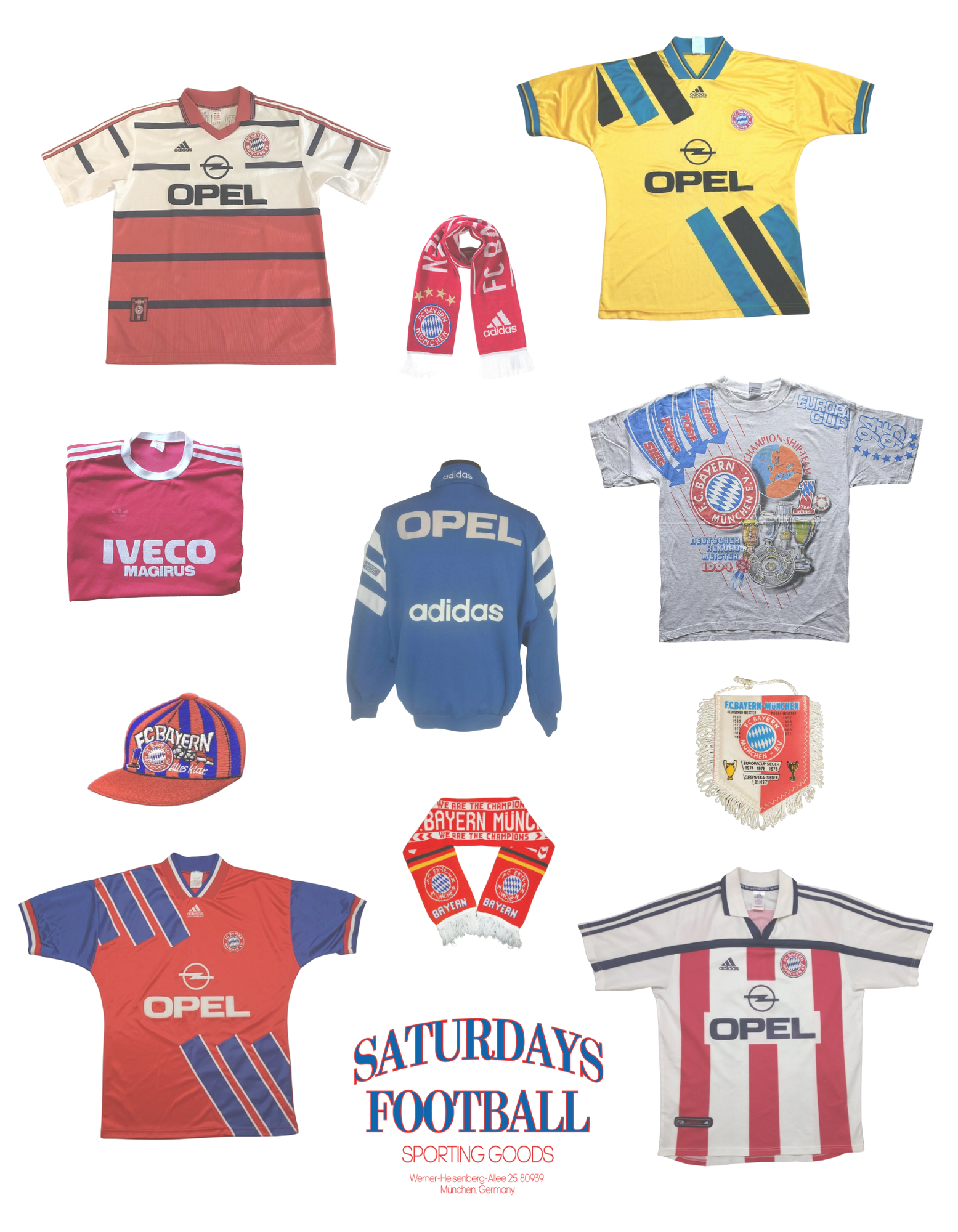 Saturdays Football Sporting Goods Munich