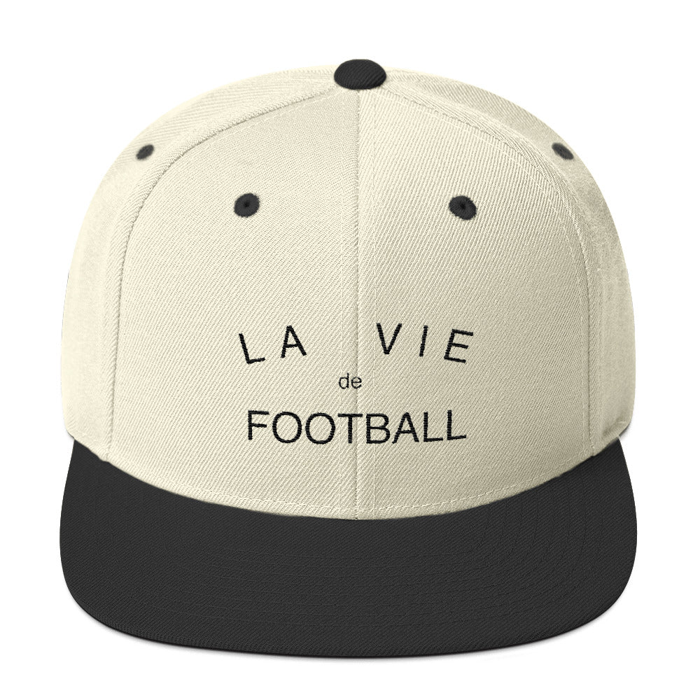 La Vie de Football Classic Snapback Hat – Saturdays Football 2ee6f1727033