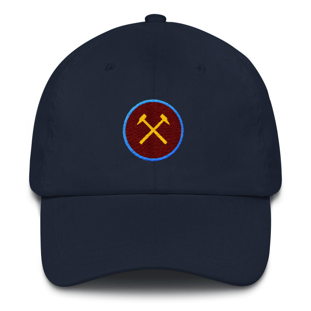 West Ham Minimalist Dad Cap