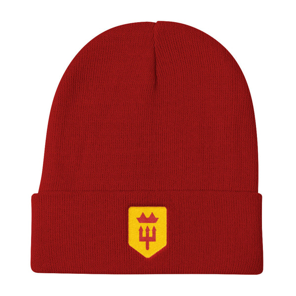 Man United Minimalist Knit Beanie