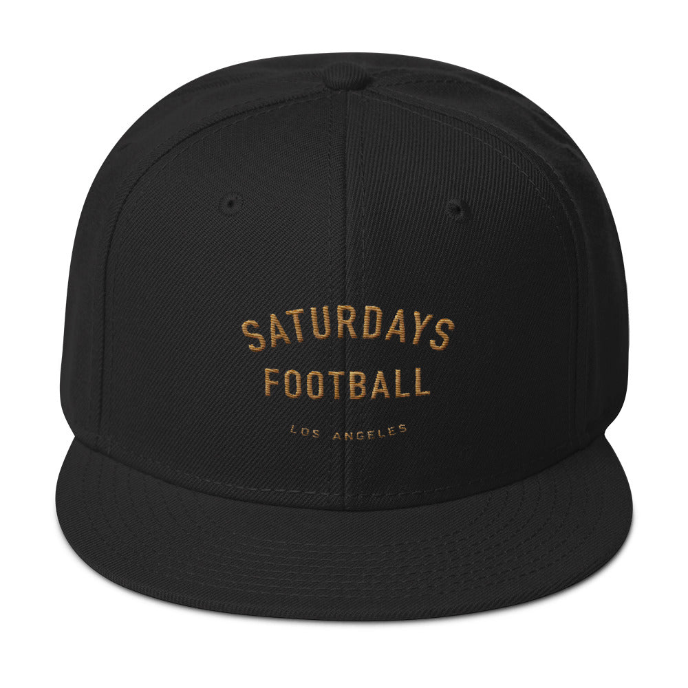 Saturdays Football Los Angeles Snapback Hat fbeb5b47866