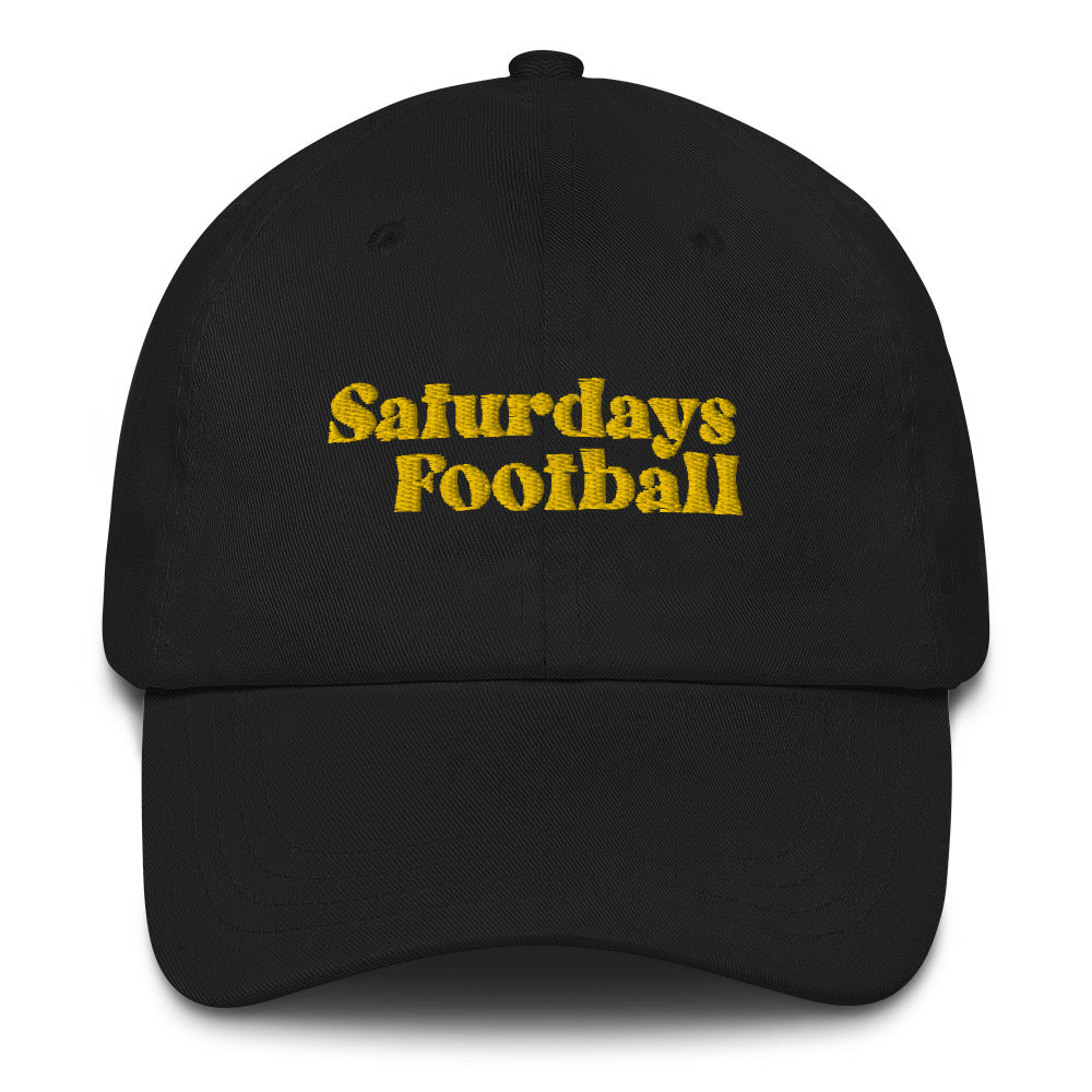 Saturdays Football Dad Cap