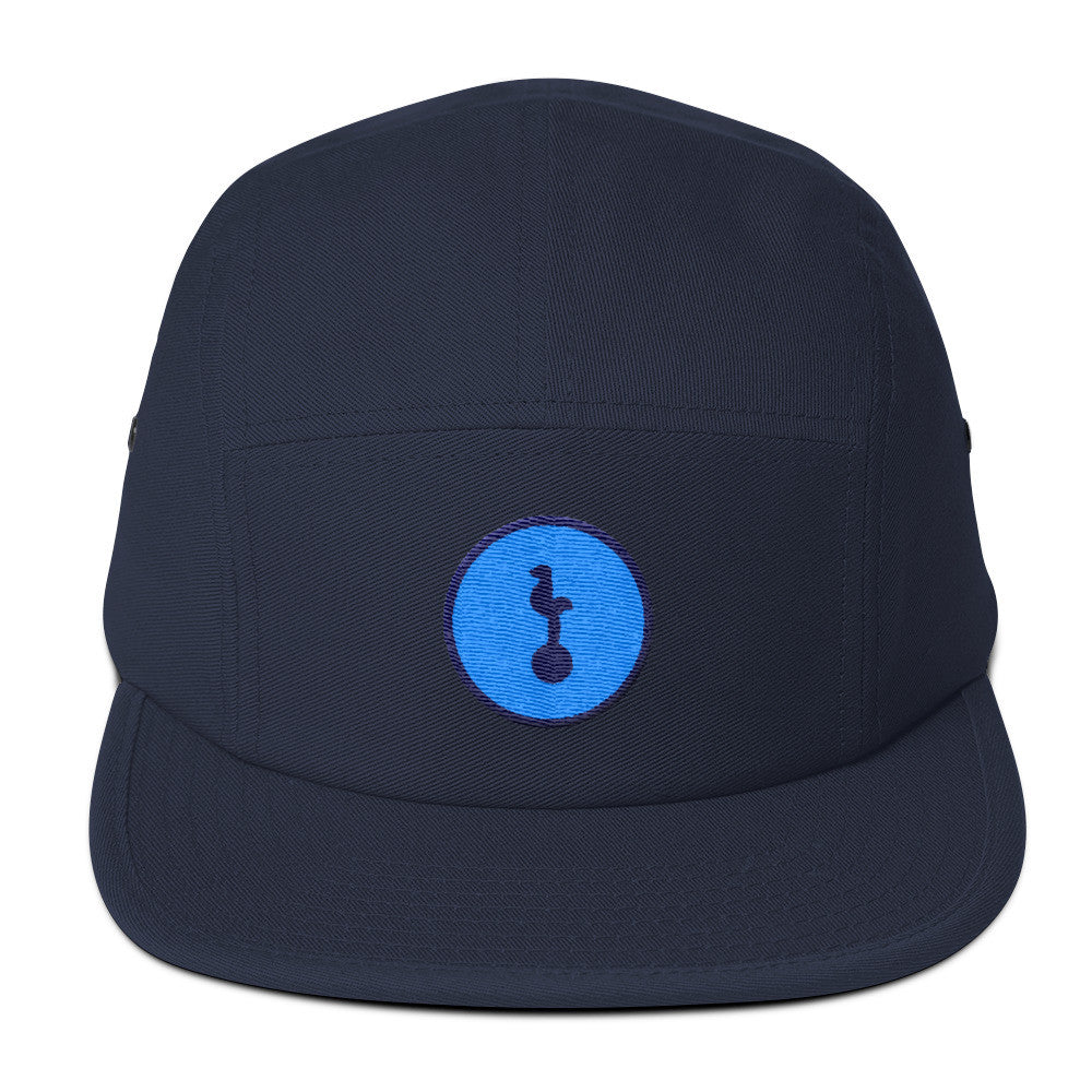 North London Blue Minimalist Camper Cap