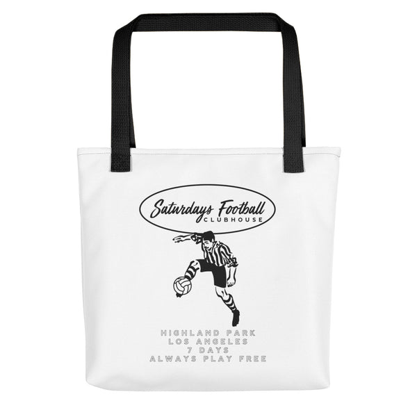 Saturdays Football Clubhouse Tote Bag
