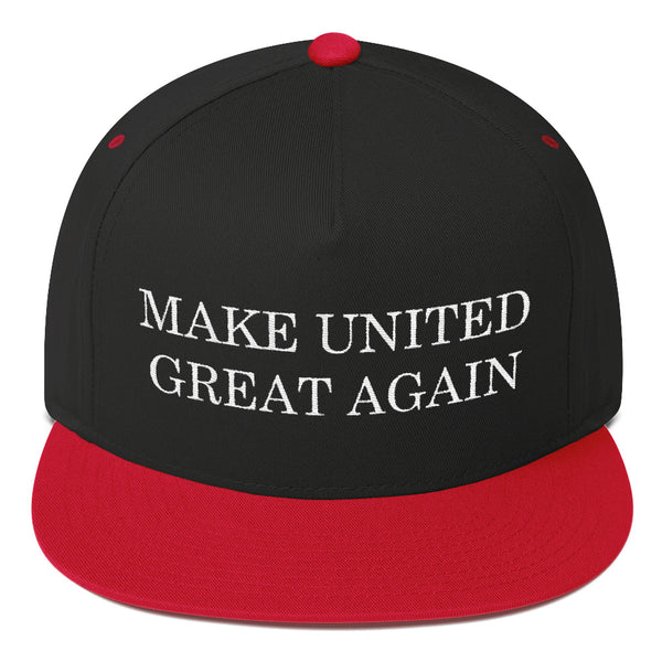 Make United Great Again Flat Bill Cap