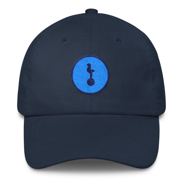 North London Blue Minimalist - Dad Cap