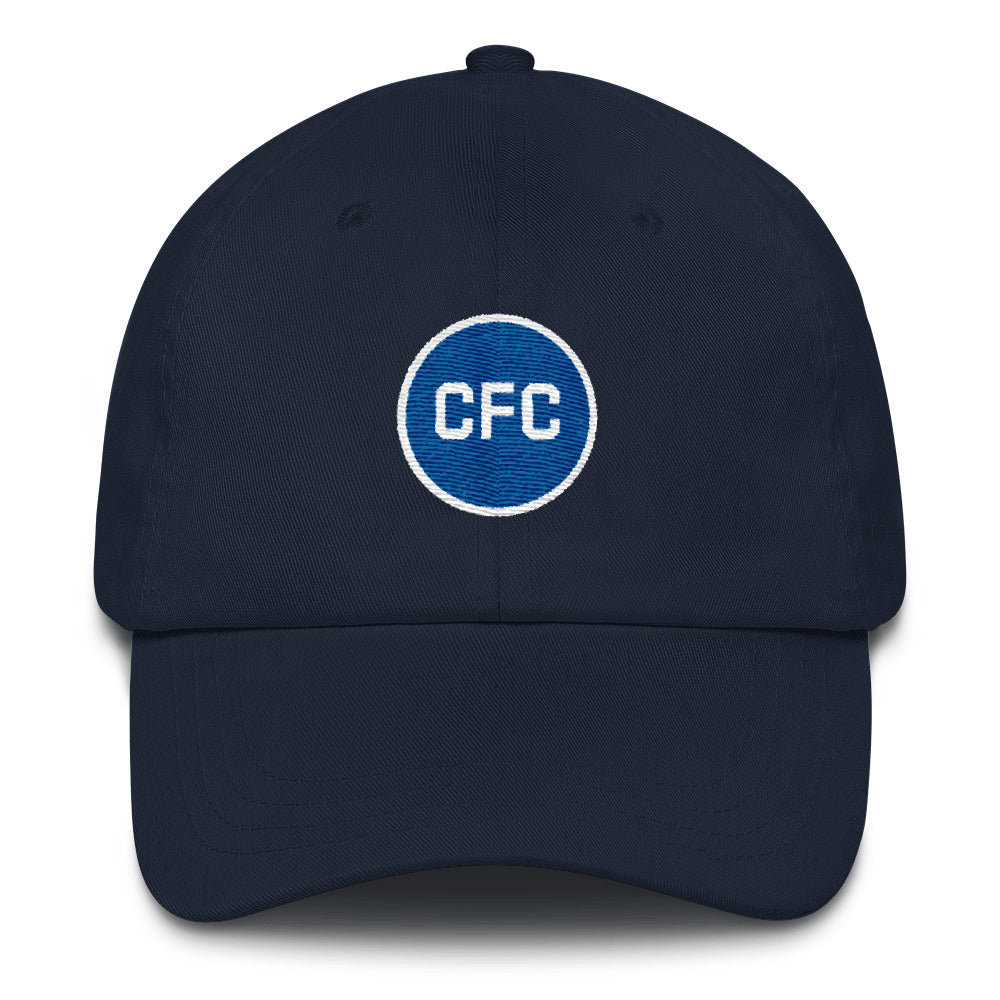 The Blues Minimalist Dad Cap