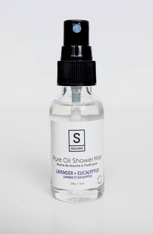 Lavender + Eucalyptus - Pure Oil Shower Mist