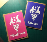 Ice Cream Cone Card - bigger C5 size