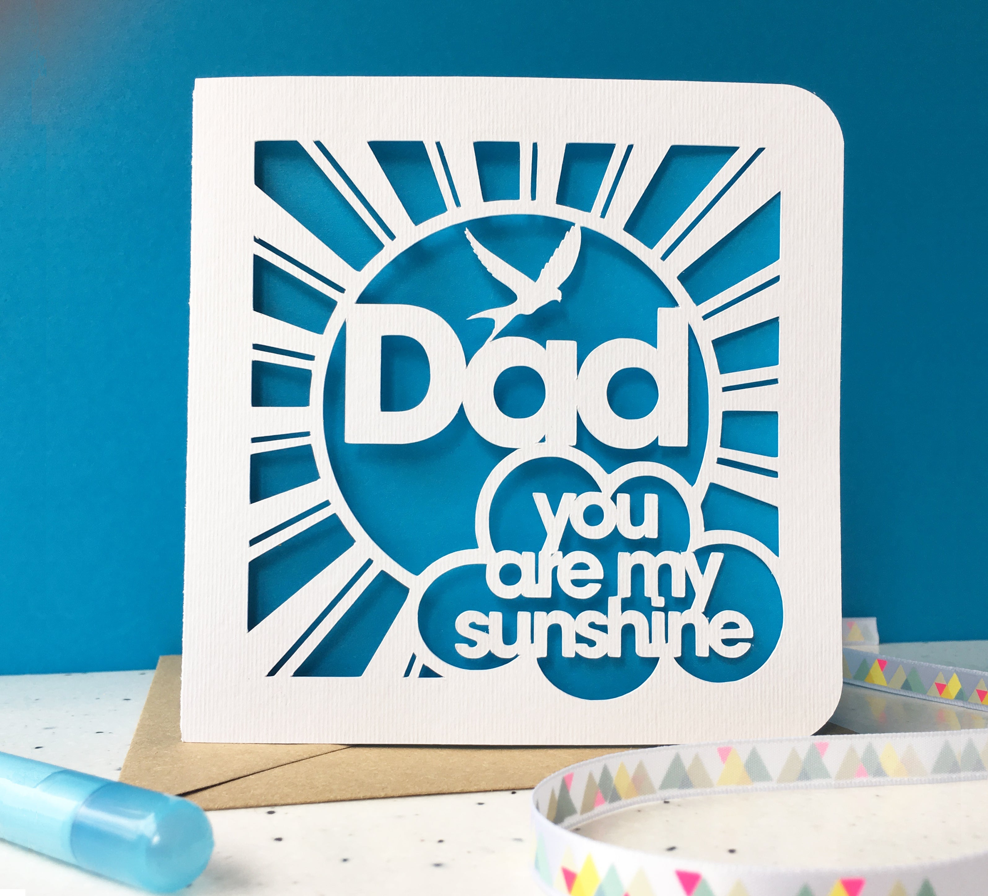 Mum, Dad … You Are My Sunshine Card