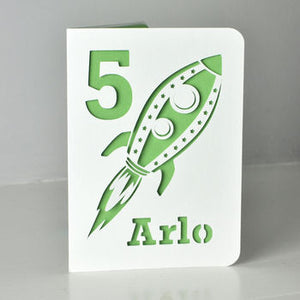 Rocketship Card