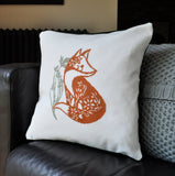 Fox Modern Cross Stitch Kit