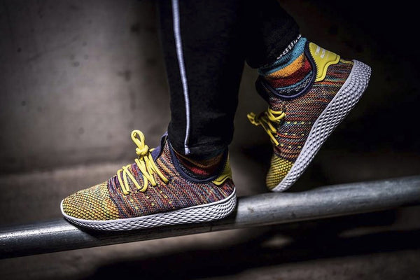 Pharrell's Newest adidas Originals Human Race Colorway Is the Wildest Yet