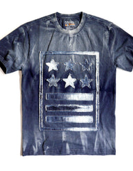 Copper Rivet - Navy Military Stars and Stripes Tee