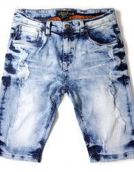 Copper Rivet - Short Denim Light Blue