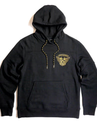 Copper Rivet -  Black Legendary Embroidered Fleece Hoody
