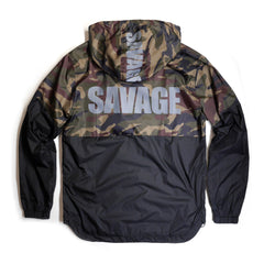 Copper Rivet - Camouflage Savage Wind breaker - Sixteen Bars