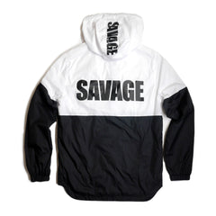 Copper Rivet - White Savage Wind breaker - Sixteen Bars