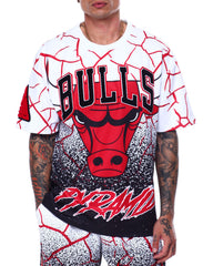 Black Pyramid - BP X Pro Standard Chicago Bulls Logo Shirt - Sixteen Bars