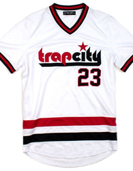 Rebel Minds - White Trap City Jersey