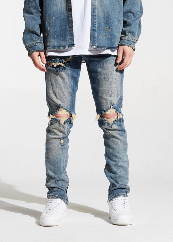Crysp Denim - Stone Wash Pacific Denim - Sixteen Bars