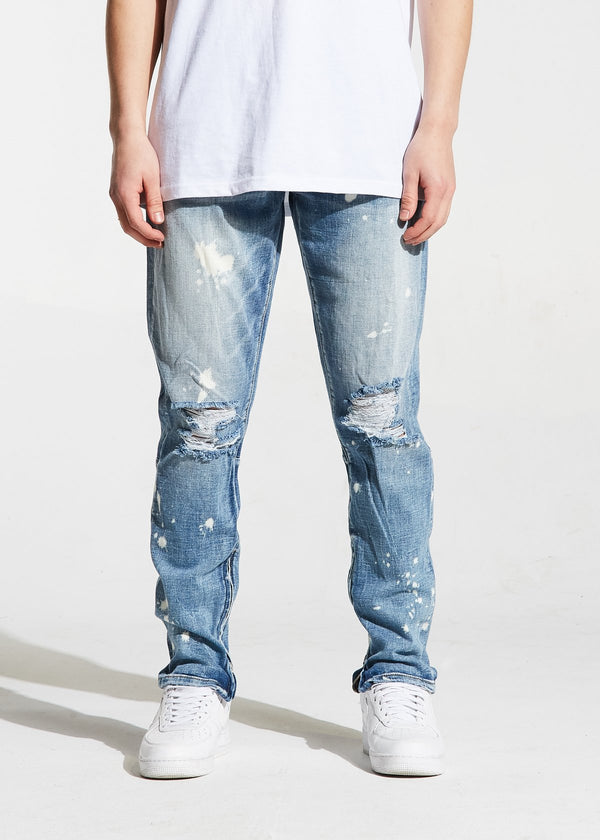 Crysp Denim - Light Wash Pacific Denim - Sixteen Bars