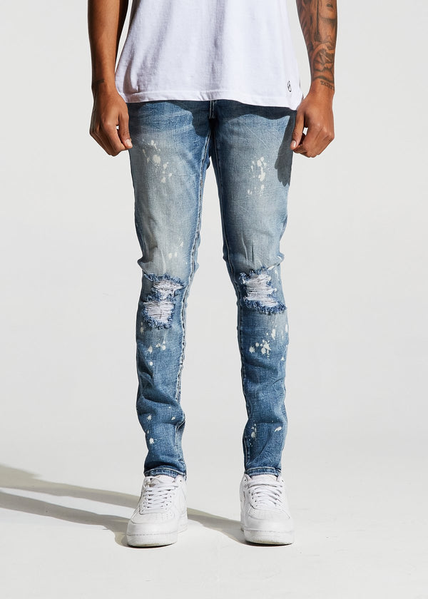 Crysp Denim - Light Blue Atlantic Denim - Sixteen Bars