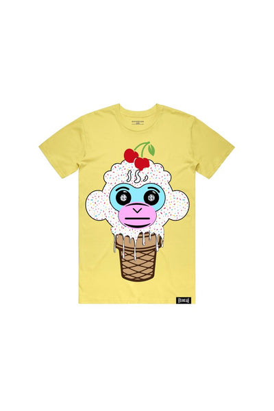 Never Broke Again - Yellow Ice Cream T-Shirt