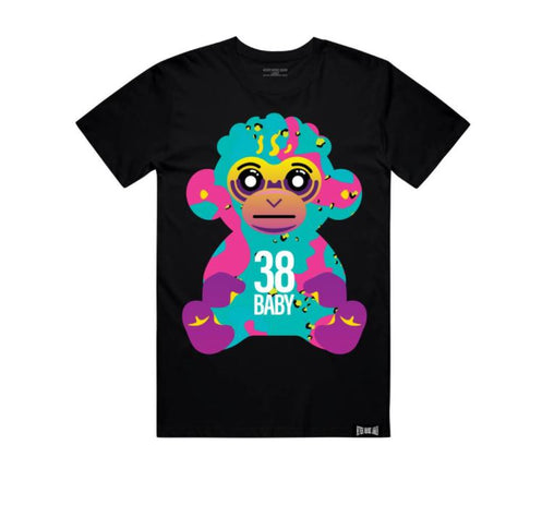 Never Broke Again - Black 38 Baby Colorful T-Shirt