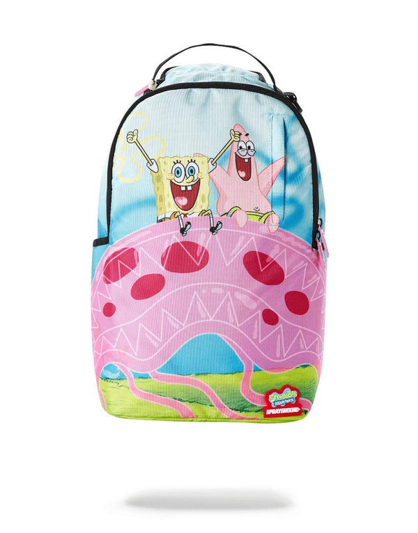 Sprayground - SpongeBob Jelly Shark Backpack - Sixteen Bars