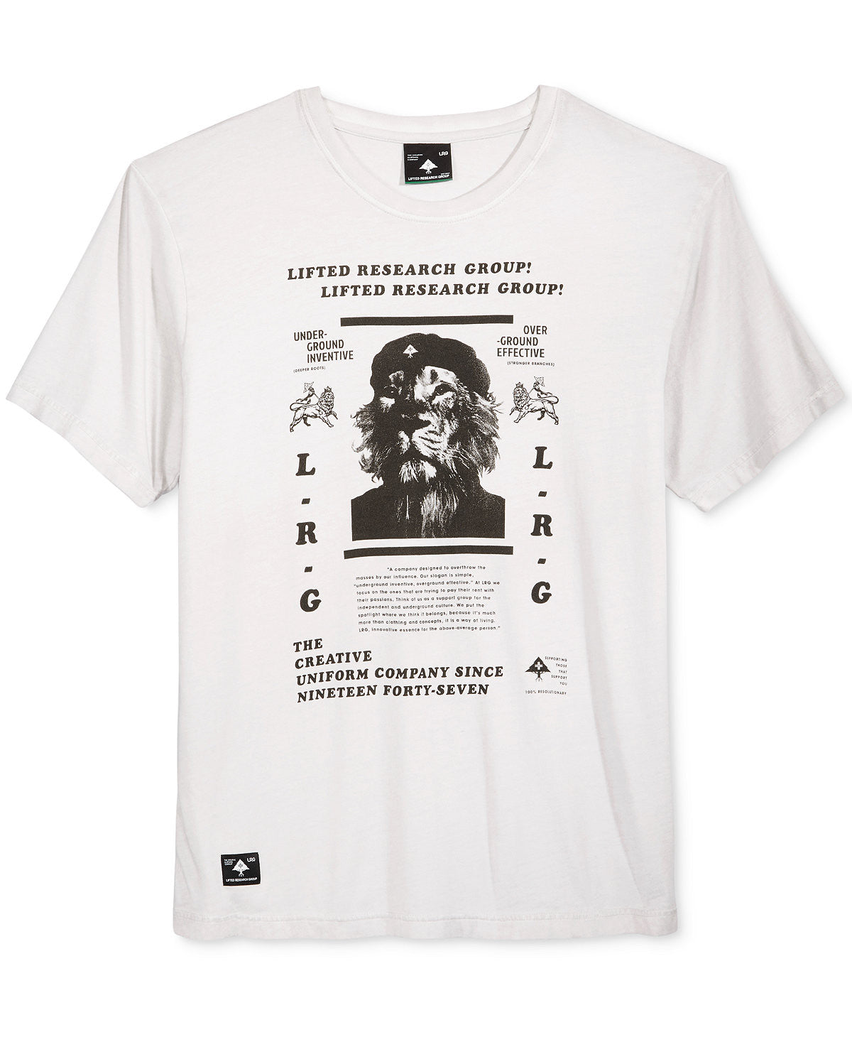 LRG - Lion Commander Tee - Sixteen Bars