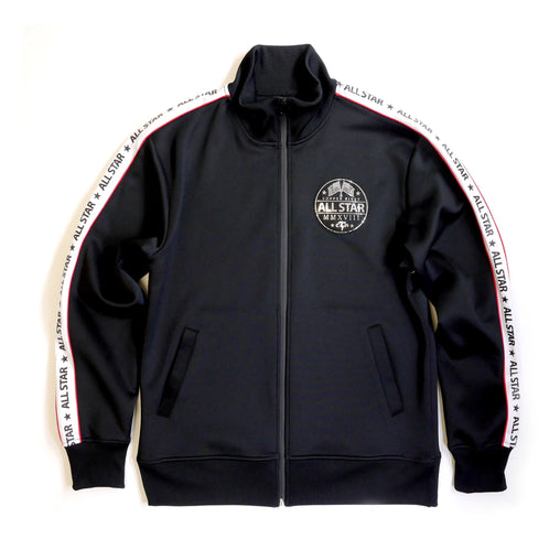 Copper Rivet - Black All Star Performance Track Jacket - Sixteen Bars