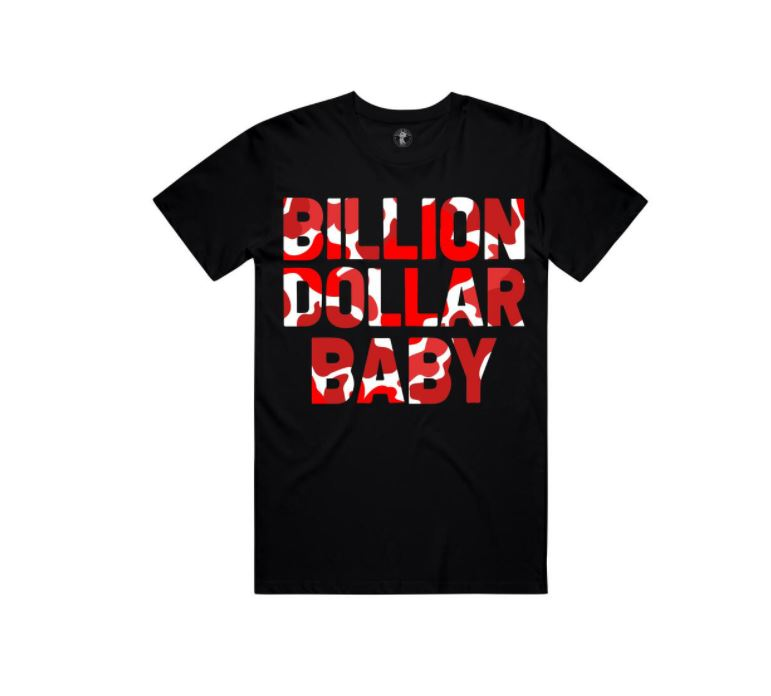 Billion Dollar Baby - Cherry Camo Tee